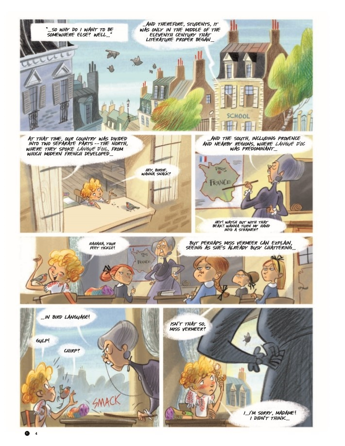Violette_v1-pr-4 ComicList Previews: VIOLETTE AROUND THE WORLD VOLUME 1 MY HEAD IN THE CLOUDS HC