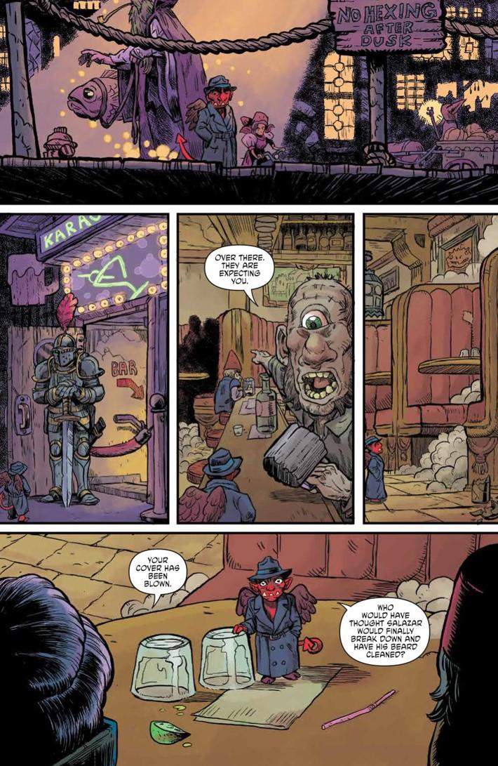 WIzardBeach_003_PRESS_4 ComicList Previews: WIZARD BEACH #3