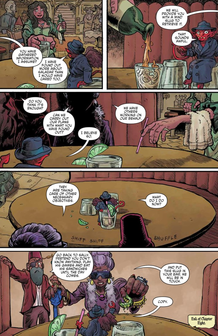 WIzardBeach_003_PRESS_5 ComicList Previews: WIZARD BEACH #3