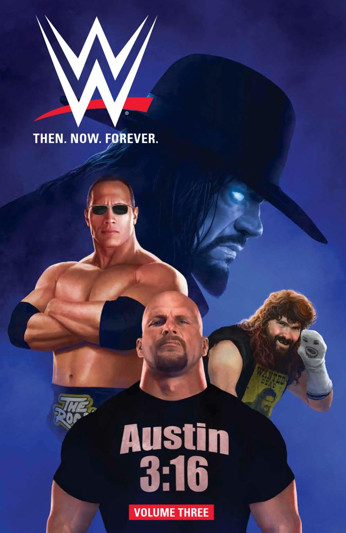 WWEThenNowForever_v3_SC_PRESS_1 ComicList Previews: WWE THEN NOW FOREVER VOLUME 3 TP