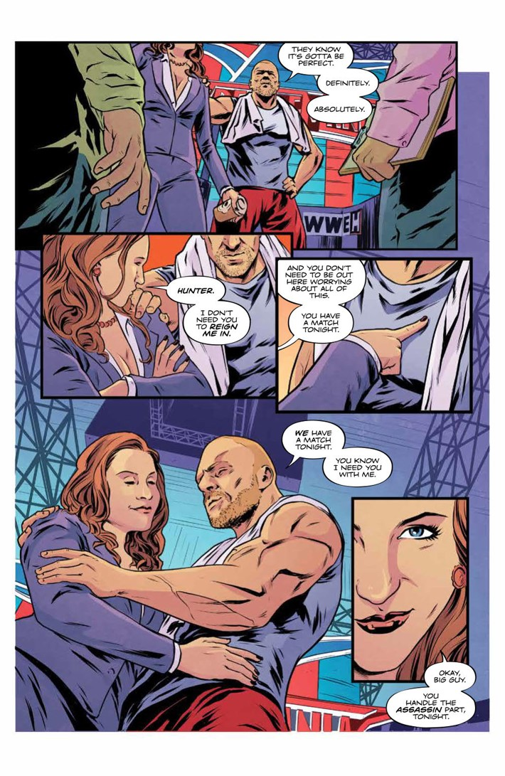 WWEThenNowForever_v3_SC_PRESS_49 ComicList Previews: WWE THEN NOW FOREVER VOLUME 3 TP