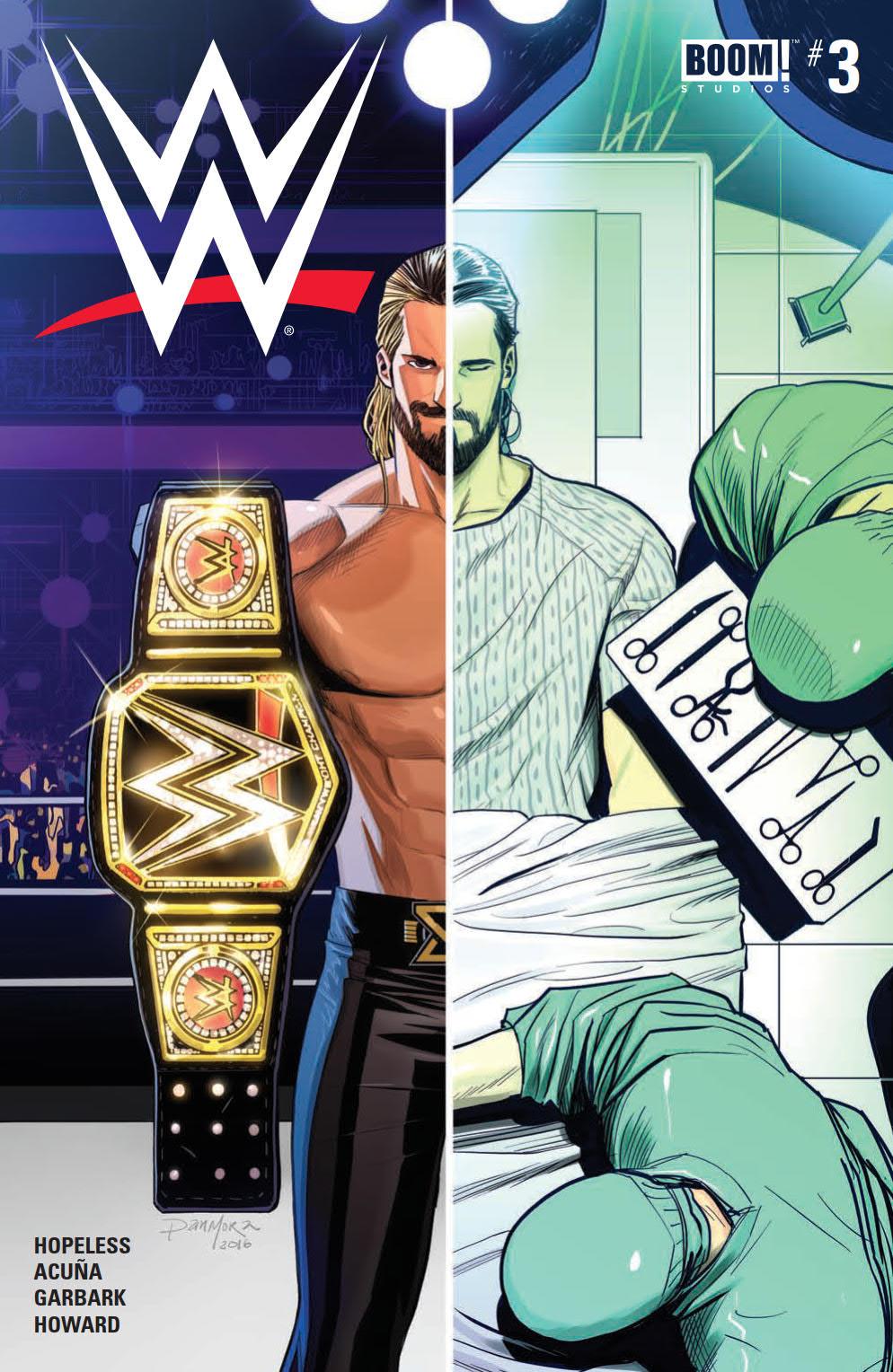 WWE_003_A_Main ComicList Preview: WWE #3