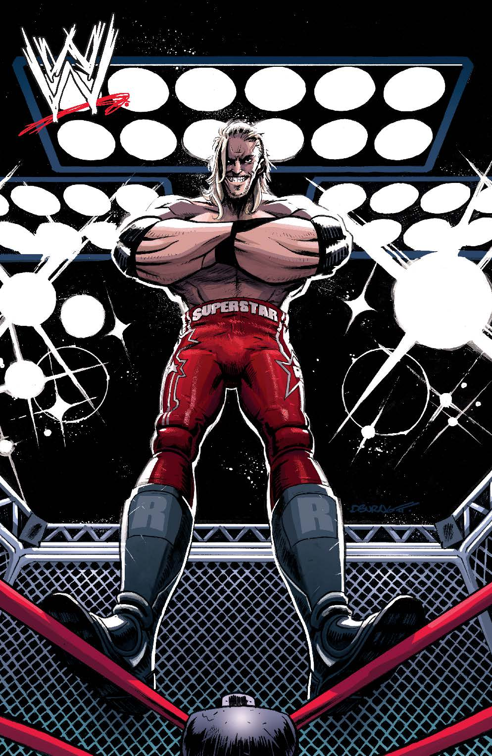 WWE_003_B_Then ComicList Preview: WWE #3