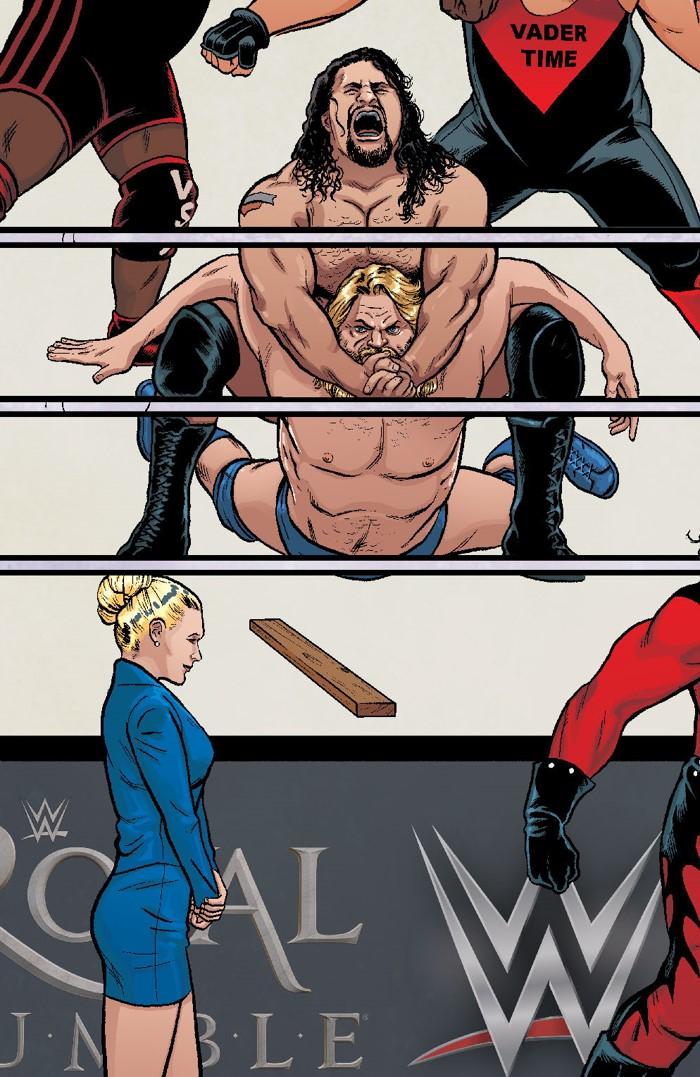 WWE_011_E_RoyalRumble ComicList Previews: WWE #11