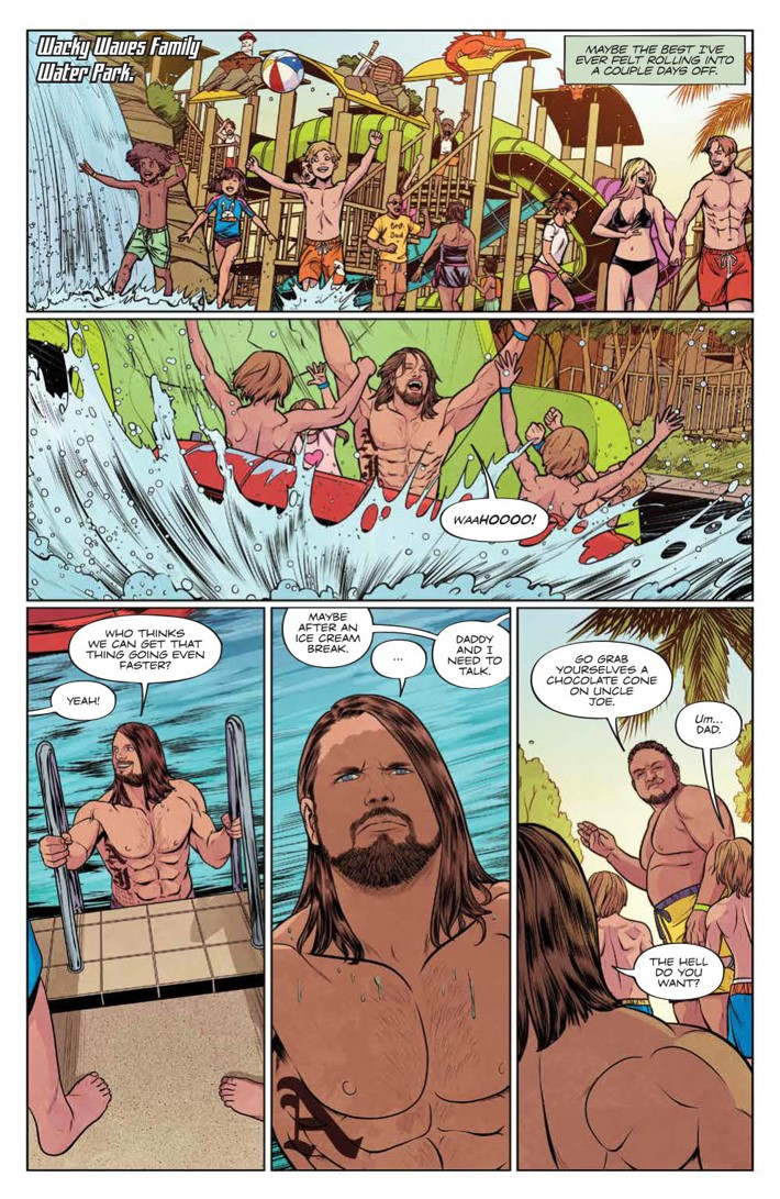 WWE_025_PRESS_4 ComicList Previews: WWE #25