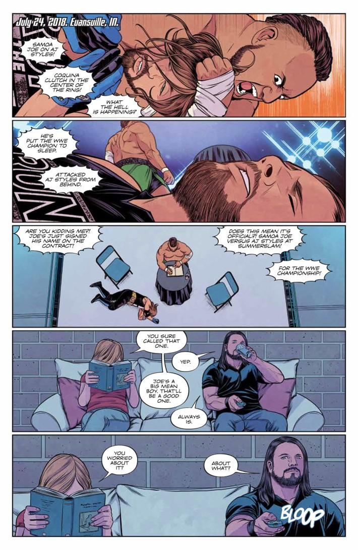 WWE_025_PRESS_6 ComicList Previews: WWE #25