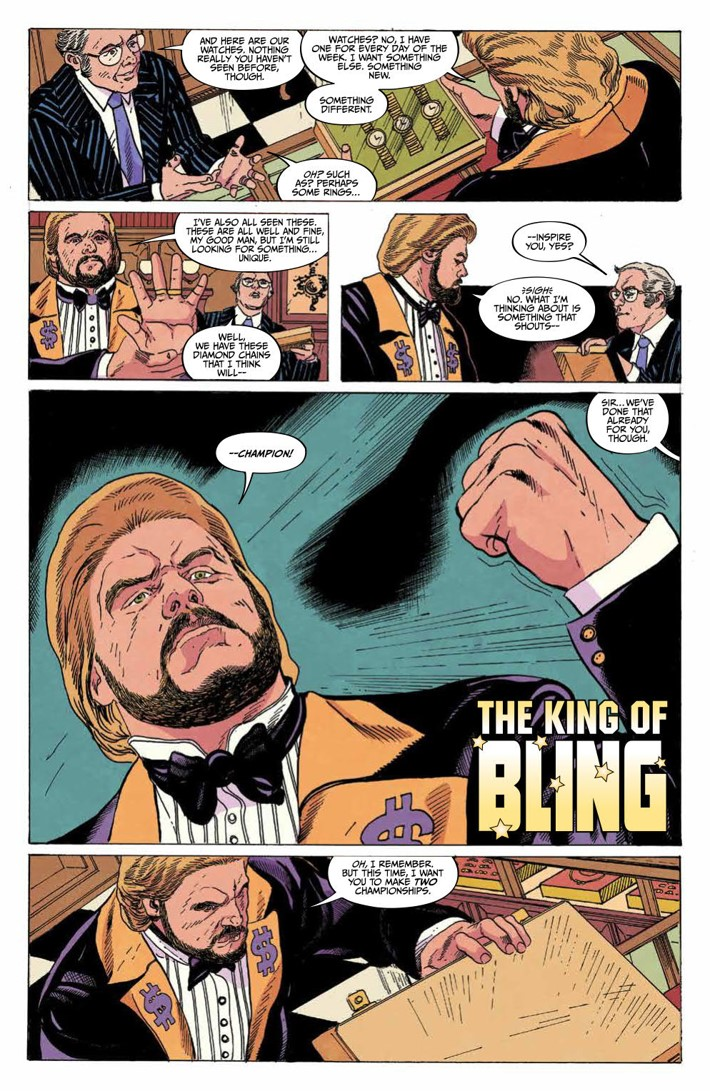 WWE_Forever2019Special_PRESS_4 ComicList Previews: WWE FOREVER #1