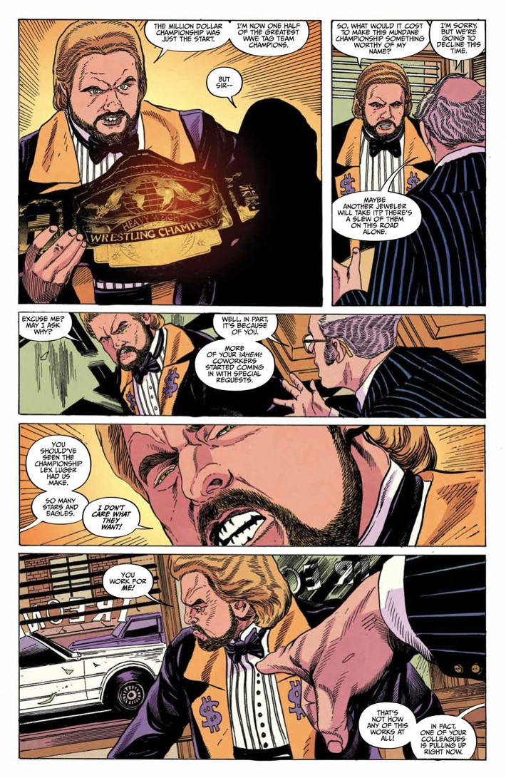 WWE_Forever2019Special_PRESS_5 ComicList Previews: WWE FOREVER #1