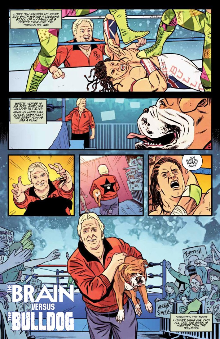 WWE_Forever2019Special_PRESS_8 ComicList Previews: WWE FOREVER #1