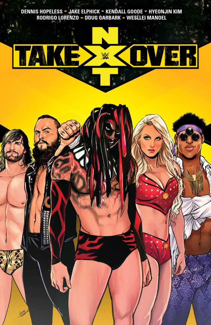 WWE_NXTTakeover_SC_PRESS_1 ComicList Previews: WWE NXT TAKEOVER TP