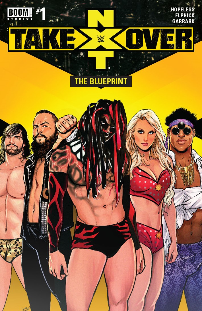 WWE_NXT_001_Blueprint_A_Main ComicList Previews: WWE NXT TAKEOVER THE BLUEPRINT #1