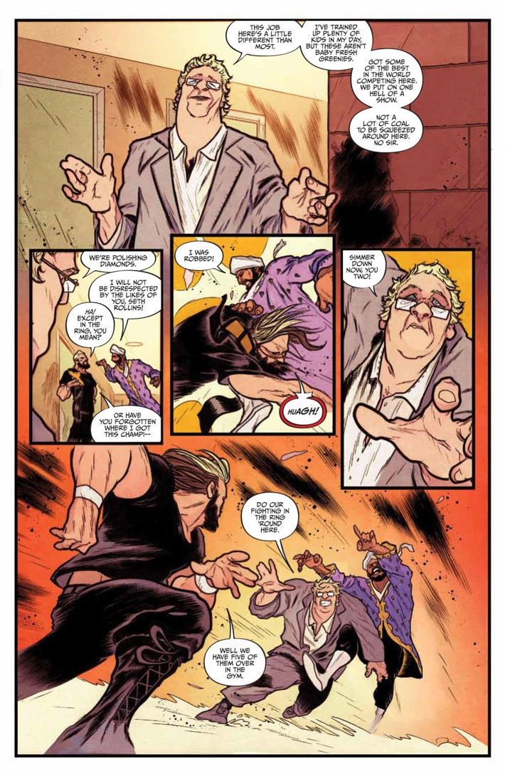 WWE_NXT_001_Blueprint_PRESS_6 ComicList Previews: WWE NXT TAKEOVER THE BLUEPRINT #1