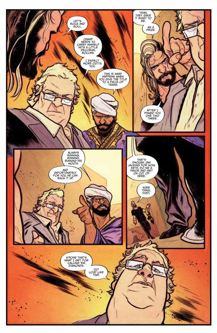 WWE_NXT_001_Blueprint_PRESS_7 ComicList Previews: WWE NXT TAKEOVER THE BLUEPRINT #1
