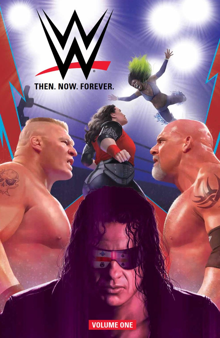 WWE_ThenNowForever_v1_PRESS_1 ComicList Previews: WWE THEN NOW FOREVER VOLUME 1 TP