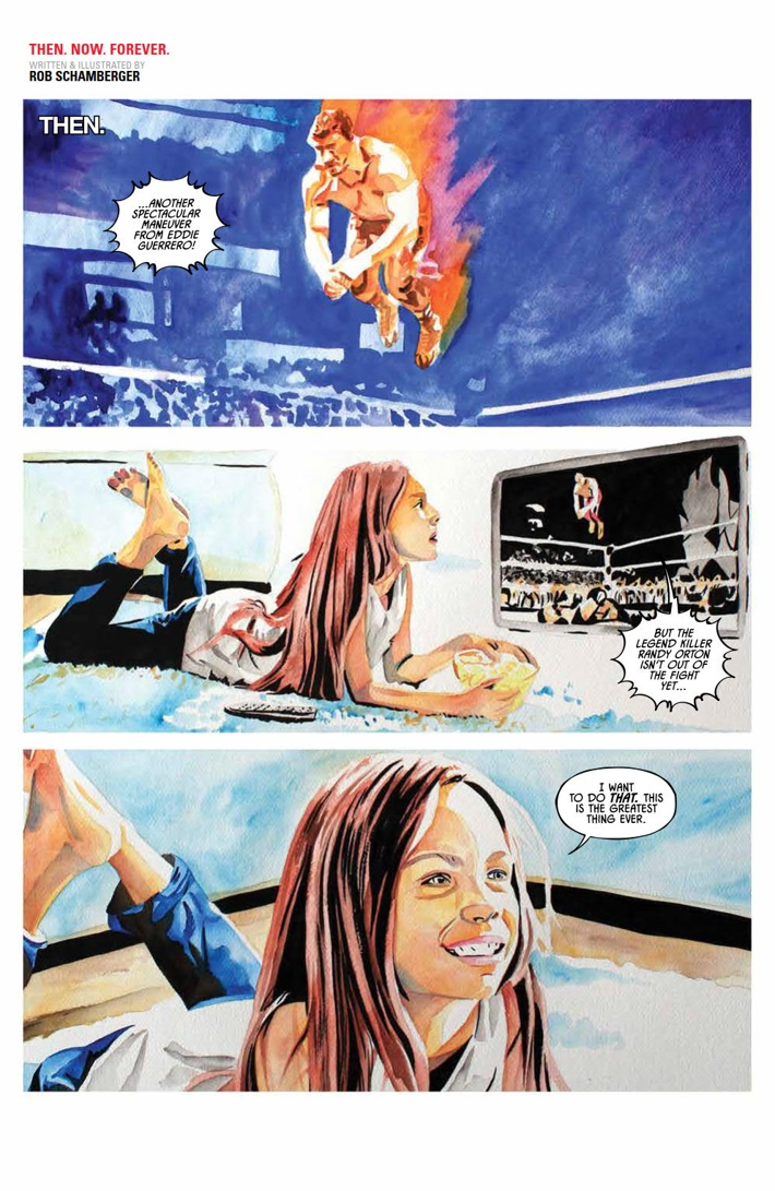 WWE_ThenNowForever_v1_PRESS_8 ComicList Previews: WWE THEN NOW FOREVER VOLUME 1 TP