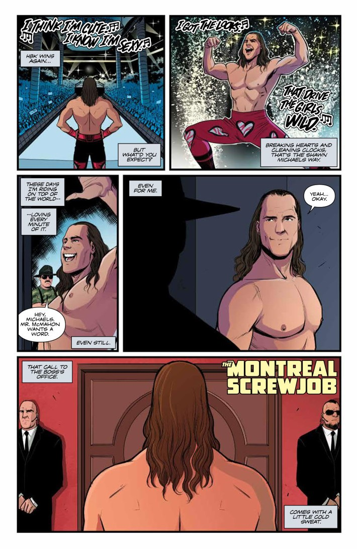 WWE_ThenNowForever_v2_SC_PRESS_9 ComicList Previews: WWE THEN NOW FOREVER VOLUME 2 TP