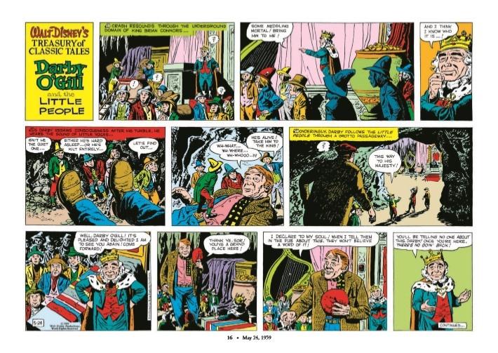 WaltDisney_Treasury_Classics_vol3-pr-6 ComicList Previews: WALT DISNEY'S TREASURY OF CLASSIC TALES VOLUME 3 HC