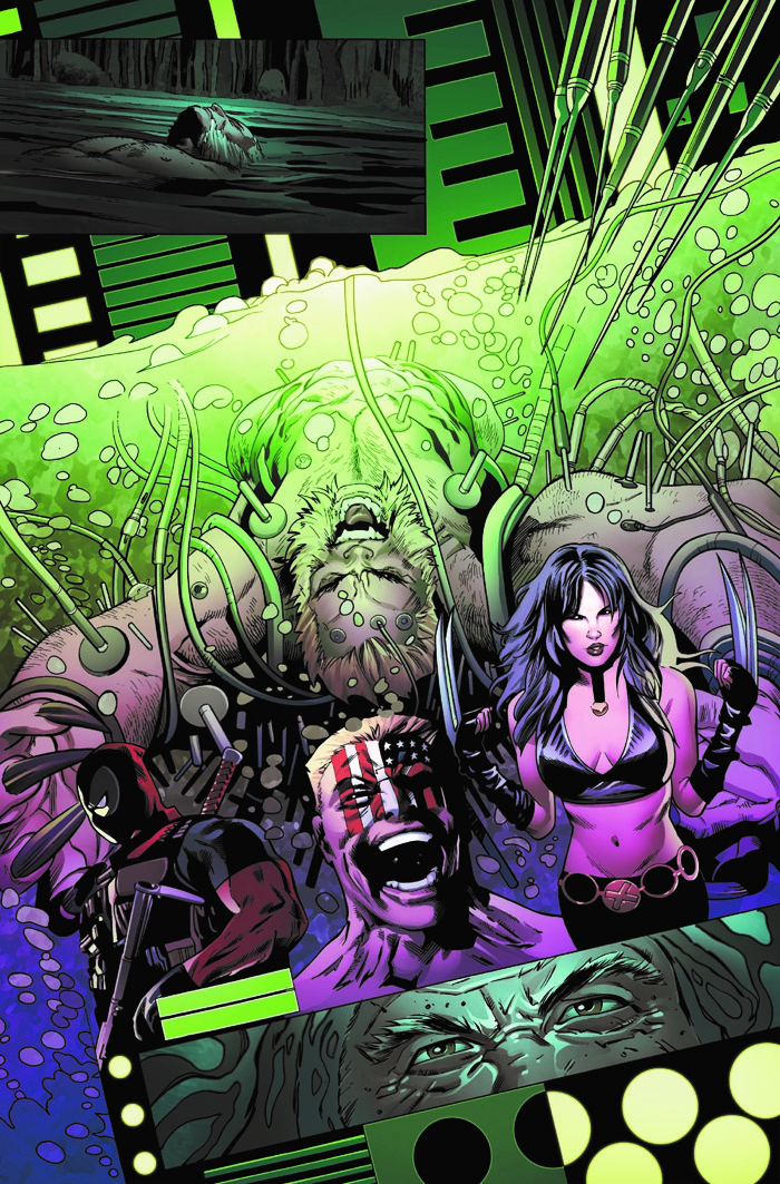 Weapon_X_1_Preview_3 ComicList Preview: WEAPON X #1