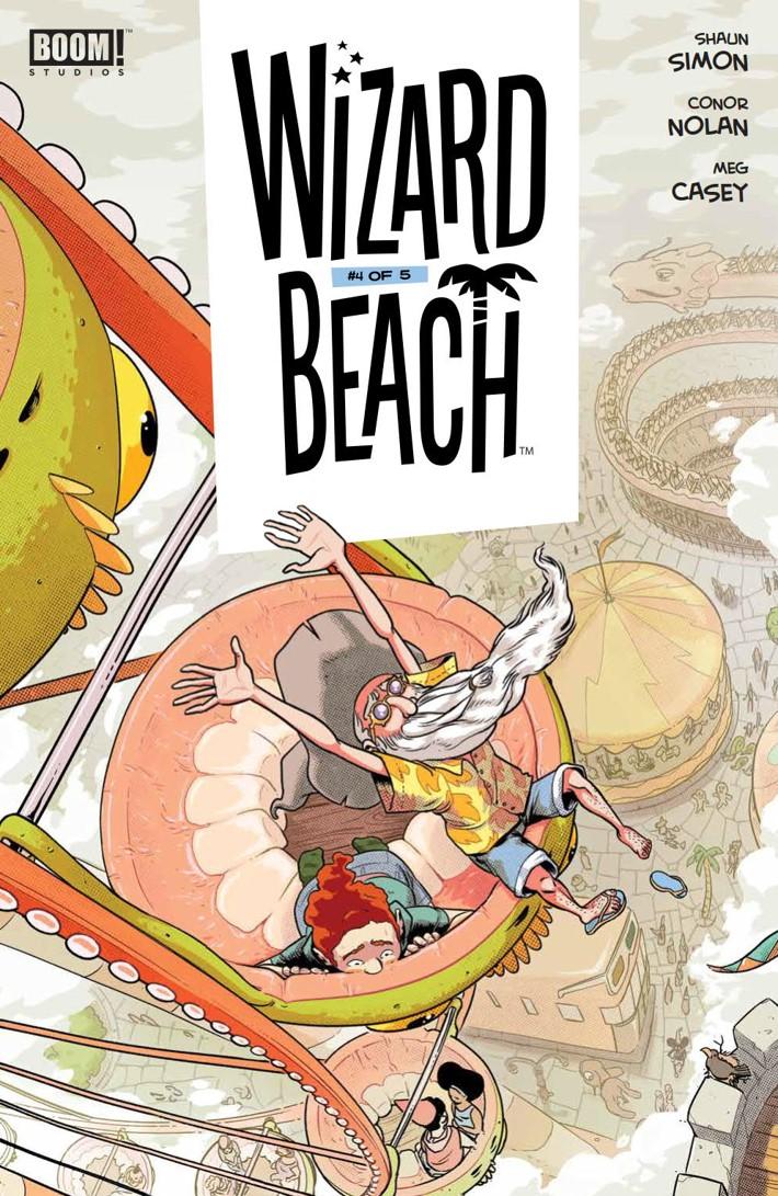 WizardBeach_004_PRESS_1 ComicList Previews: WIZARD BEACH #4