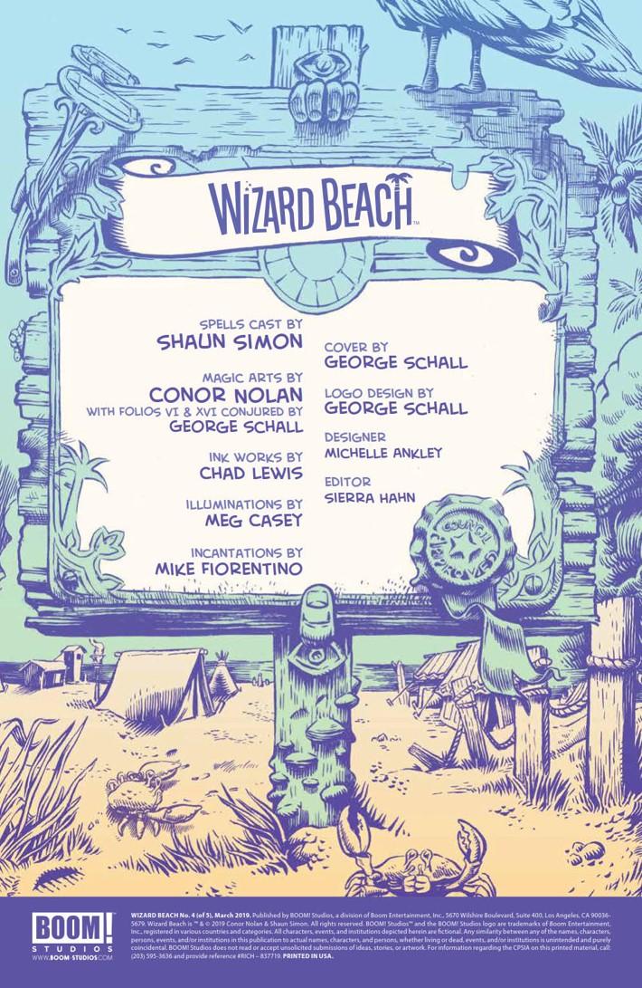 WizardBeach_004_PRESS_2 ComicList Previews: WIZARD BEACH #4