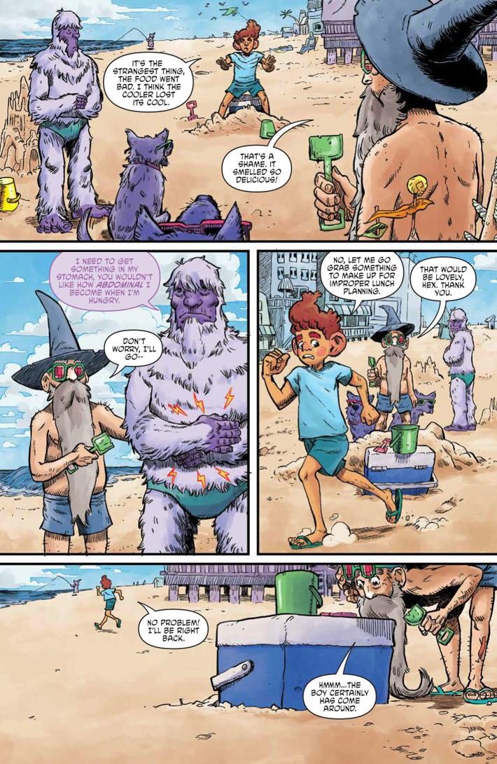 WizardBeach_004_PRESS_7 ComicList Previews: WIZARD BEACH #4