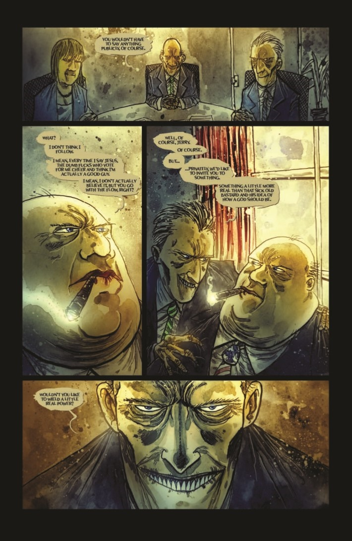 Wormwood_GoestoWash_HC-pr-7 ComicList Previews: WORMWOOD GENTLEMAN CORPSE MR WORMWOOD GOES TO WASHINGTON HC