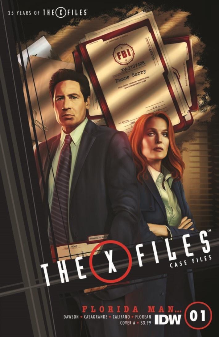 XFiles_CaseFiles_Florida_Man_01-pr-1 ComicList Previews: THE X-FILES CASE FILES FLORIDA MAN #1