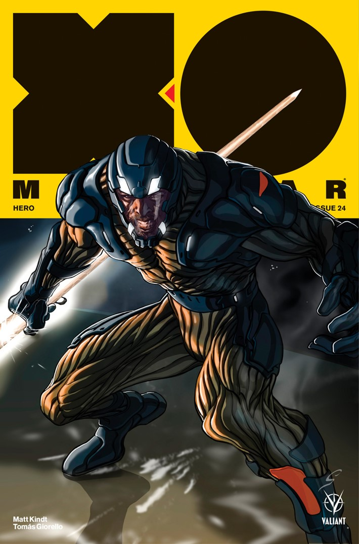 XO-Cover-B ComicList Previews: X-O MANOWAR #24