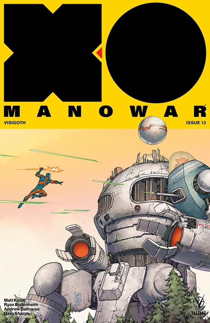 XO2017_013_COVER-B_CAMUNCOLI ComicList Previews: X-O MANOWAR (2017) #13