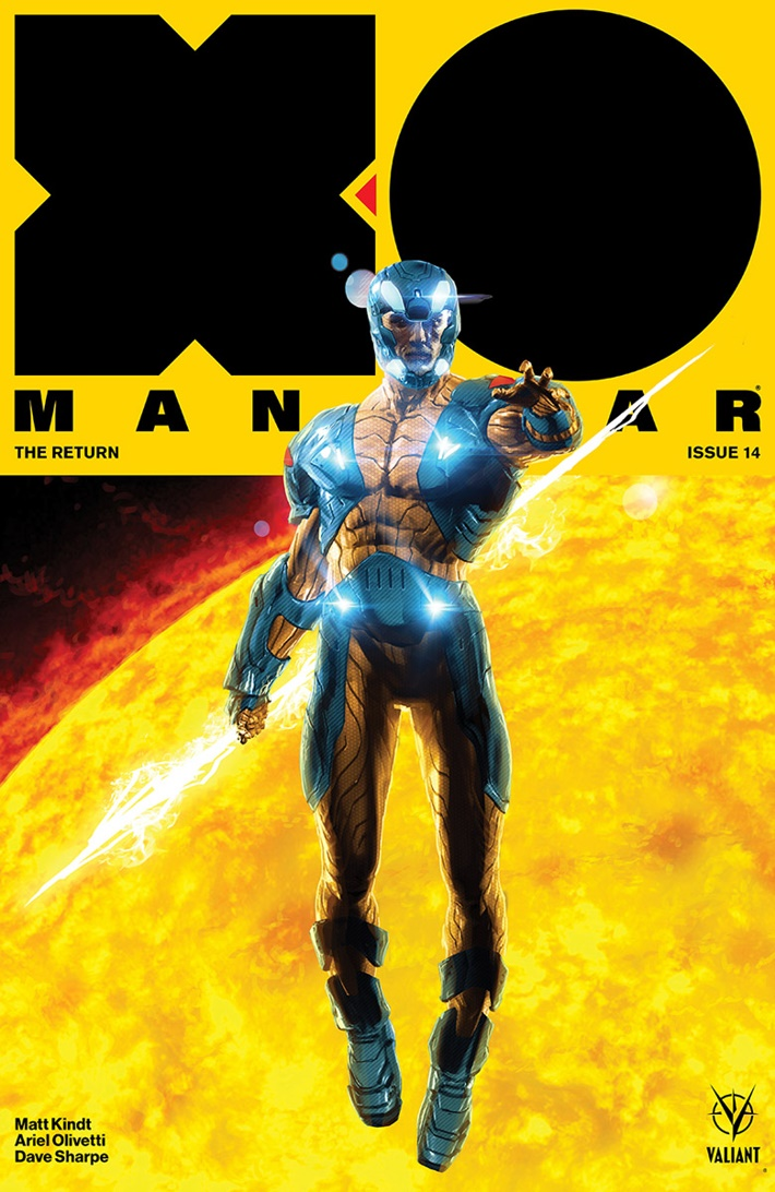 XO2017_014_COVER-A_ANDREWS ComicList Previews: X-O MANOWAR (2017) #14
