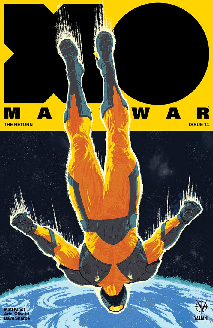 XO2017_014_COVER-B_ALLEN ComicList Previews: X-O MANOWAR (2017) #14