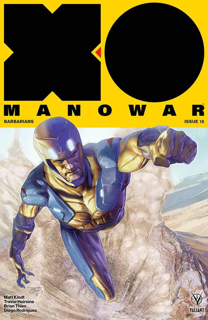 XO2017_018_VARIANT-ICON_GUEDES ComicList Previews: X-O MANOWAR (2017) #18