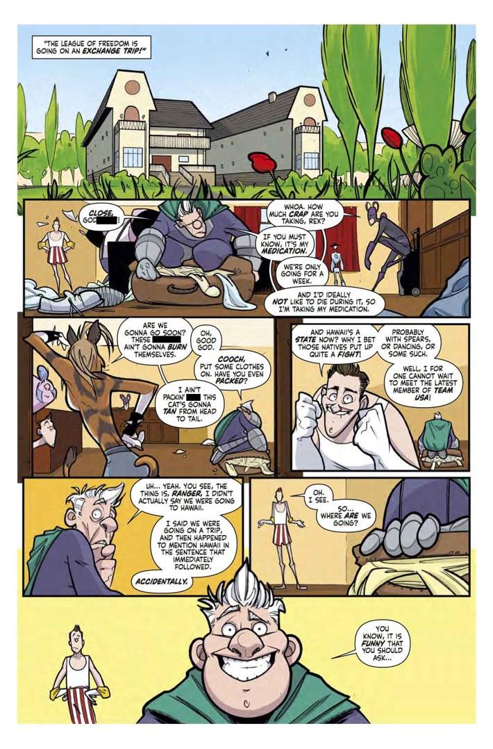 supermansion_2_Pg6 ComicList Previews: SUPERMANSION #2