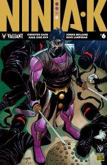 NINJA-K_006_PRE-ORDER_WILLIAMS ComicList: Valiant Entertainment New Releases for 04/11/2018