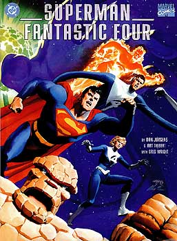 SupermanFantasticFour Superman/Fantastic Four REVIEW