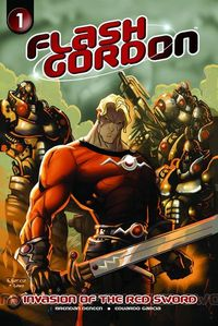 sep100796 Geek Goggle Reviews: Flash Gordon Invasion Of The Red Sword #1