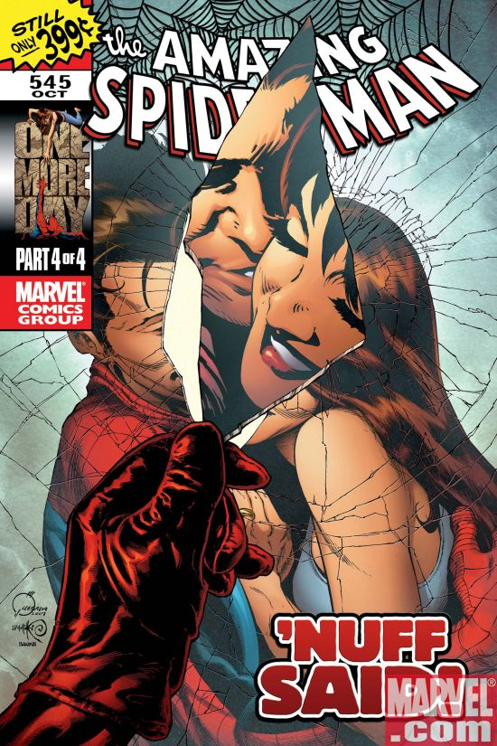 ASM545QuesadaCover Spider-Man-Deal Or No Deal?