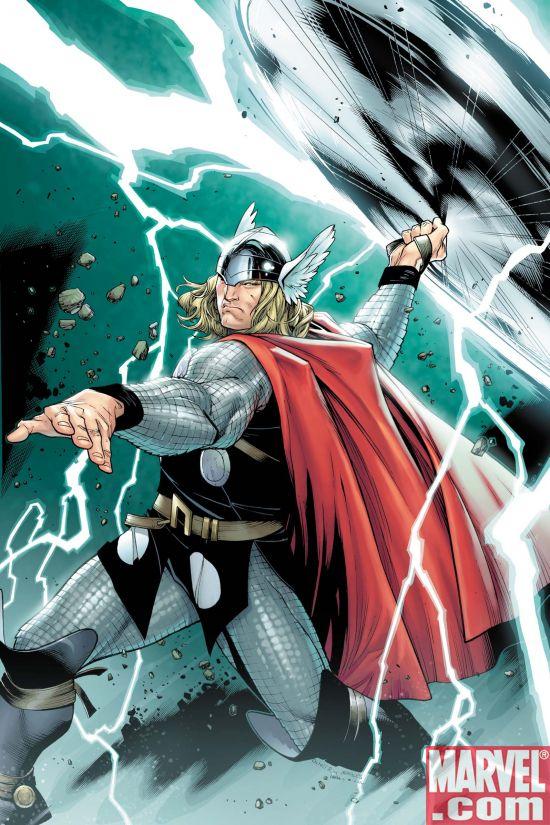 Thor01CvrCoipel Thor #1 Gains A New Ally-- Michael Turner!