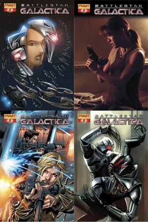 battlestargalactica8 DFE: All Out War in Battlestar Galactica #8