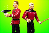 Fishman Art 130706 Marc Alan Fishman: Kirk Vs. Picard – I'm Ready to Choose