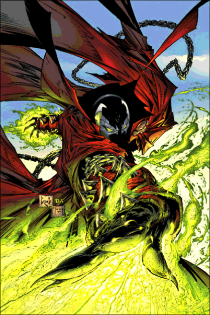 spawn vs ghost rider 1