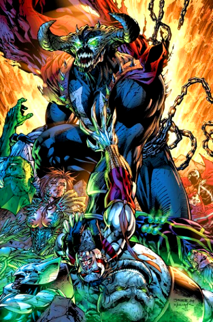 spawn vs ghost rider 3