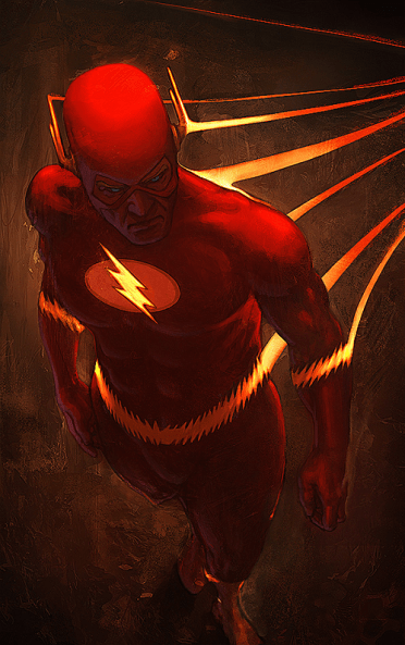 flash fan art