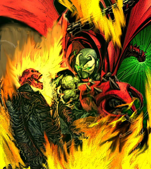 Spawn vs Ghost Rider