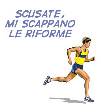 Riforme Riforme: tra il dire e il fare c'è di mezzo Berlusconi