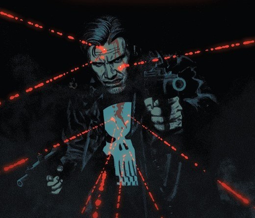 The Punisher #2 cover by Greg Smallwood