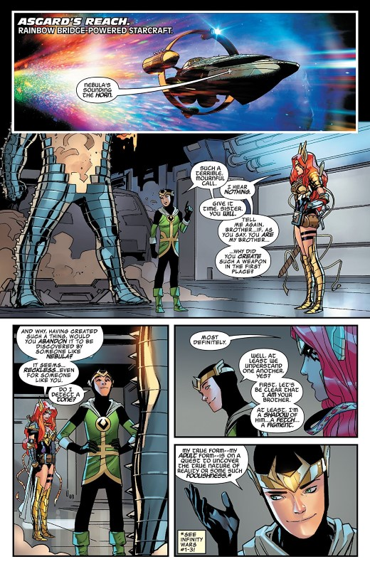 Asgardians of the Galaxy #2 art by Matteo Lolli and Federico Blee