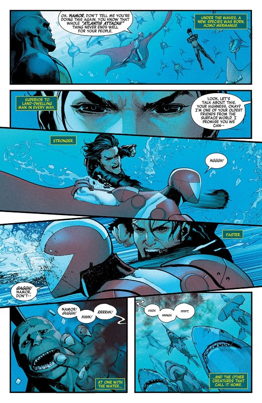 Avengers #9 art by David Marquez and Justin Ponsor
