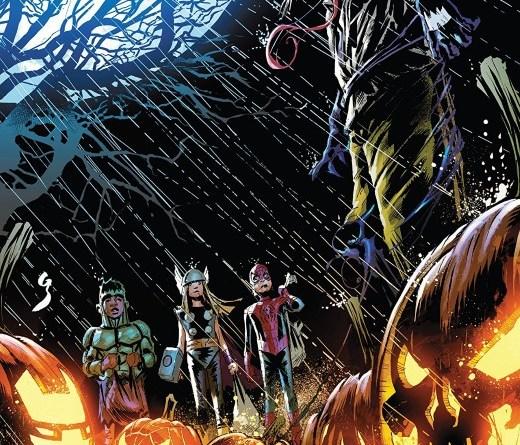 Avengers Halloween Special cover by Geoff Shaw and Rain Beredo