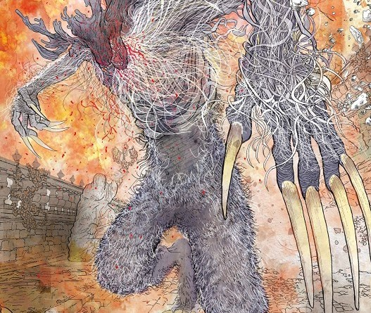 Bloodborne #6 cover by Morgan Jeske